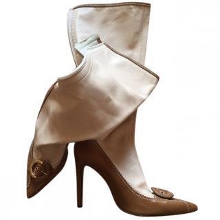 Alessandro D'ell Aqua Leather boots