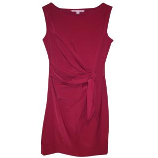 DVF pink shift dress (size 4 US/8 UK)