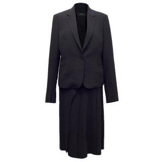 Joseph Black Skirt and Matching Blazer