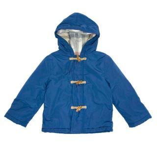 Burberry Kids Blue Puffer Jacket