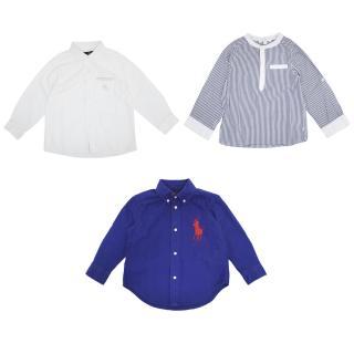 Ralph Lauren, Carlo Pignatelli, Jacadi Kids Three Shirts