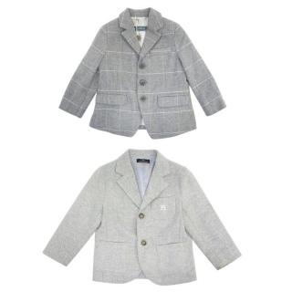 Simonetta, Carlo Pignatelli Two Grey Blazers