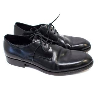 Ermenegildo Zegna Black Leather Shoes