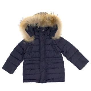 Il Gufo Navy Puffer Jacket
