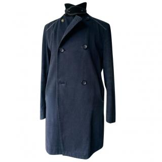 BOSS by Hugo Boss Dark Blue Denim Men Coat
