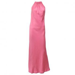 Amanda Wakeley Halter Neck Evening Gown