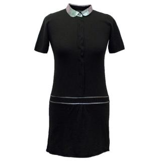 Zadig & Voltaire Black Short-Sleeved Girls Dress