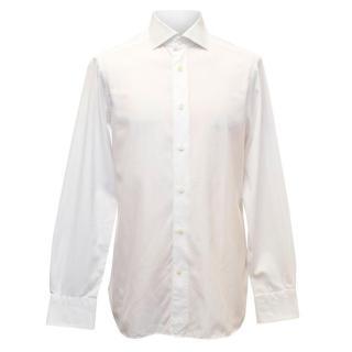 Ermenegildo Zegna White Slim Fit Shirt