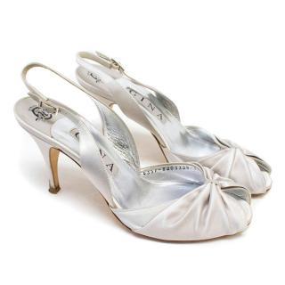 Gina Grey Peep-Toe Heels