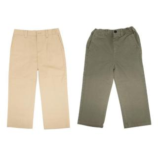 Burberry and Dolce and Gabbana Boys Trousers