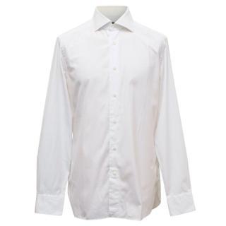 Ermenegildo Zegna White Tailored Fit Shirt