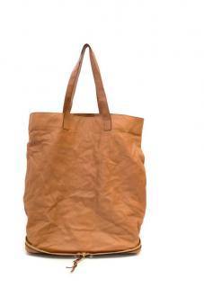 Chloe Tan Fold Up Shopper Bag