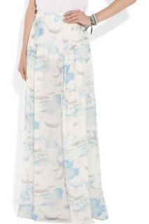 Kenzo multi cloud print maxi skirt