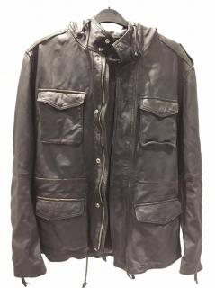 Emporio Armani Men's Leather Jacket