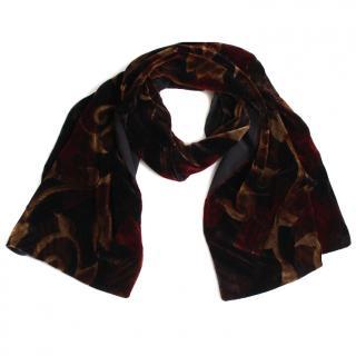 Furla Velvet/Silk Scarf