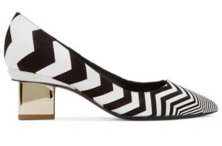 Nicholas Kirkwood chevron triangular heels 40