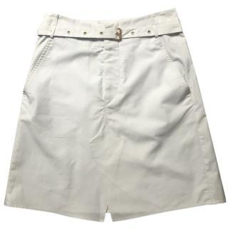 Isabel Marant beige-white skirt Small