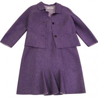 Dior wool dress &matching jacket