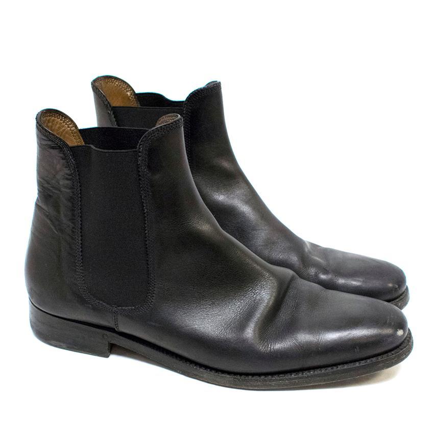 Ralph Lauren Black Chelsea Boots