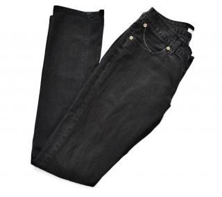 Superfine black skinny jeans