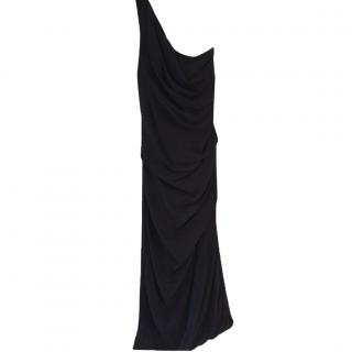Sportmax one shoulder dress