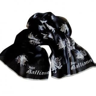 Galliano Silk Scarf