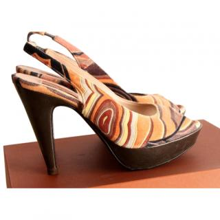 Missoni Orange Women's Shoes/Sandals