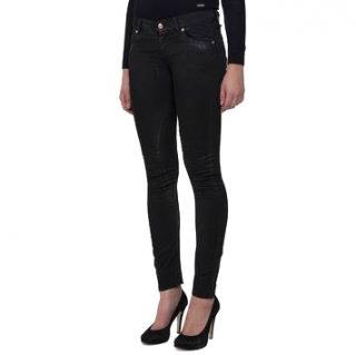 Galliano Skinny Black Jeans