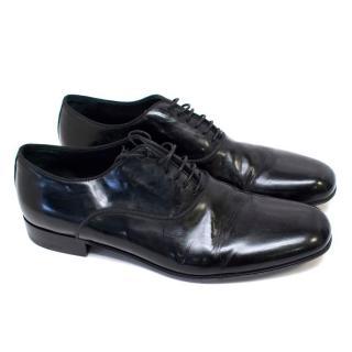 Ermenegildo Zegna Black Dress Shoes