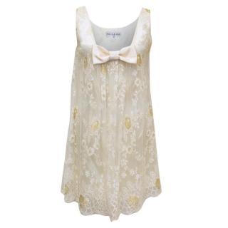 Paul & Joe Cream Lace Dress
