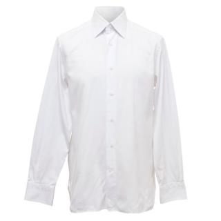 Ermenegildo Zegna Grey White Shirt
