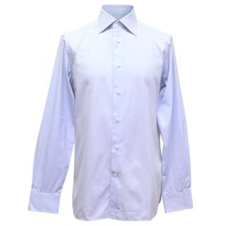Ermenegildo Zegna Light Blue Striped Shirt