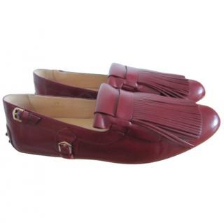 TOD'S Long-fringe loafers