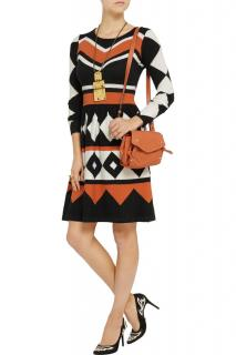Alice by Temperley Adrienne Jacquard-Knit Dress