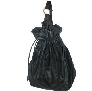 Laura Biagiotti Black Backpack