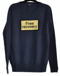 Anya Hindmarch merino wool 'free recovery' jumper
