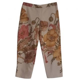 Salvatore Ferragamo silk trousers
