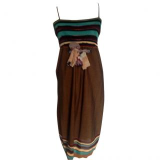 M Missoni colorful dress with narrow straps