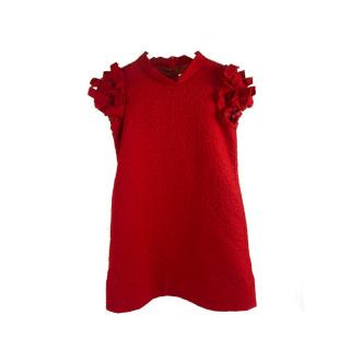 Simonetta Girl's Red Dress