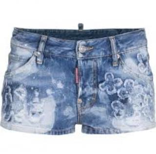 Dsquared2 Flower Boy Shorts