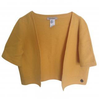 See by chloe yolk colour short open knitwear jacket