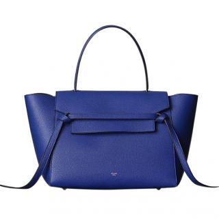 Celine Blue Mini Belt Bag