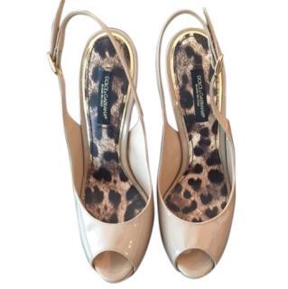 DOLCE & GABBANA Nude Heels
