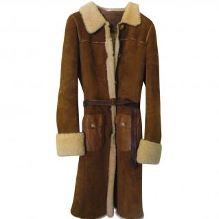 Miu Miu genuine shearling coat