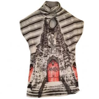 Yves Saint Laurent embellished top