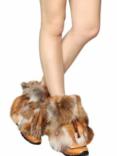 DSQUARED2 Fur Boots