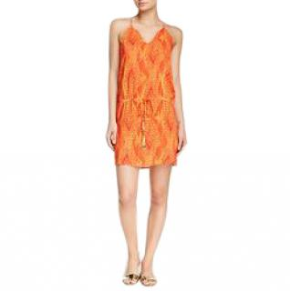 Vix menfis ida orange dress