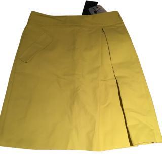 MaxMara yellow skirt