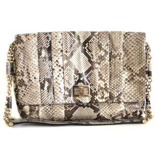 Anya Hindmarch Gracie shoulder bag in python