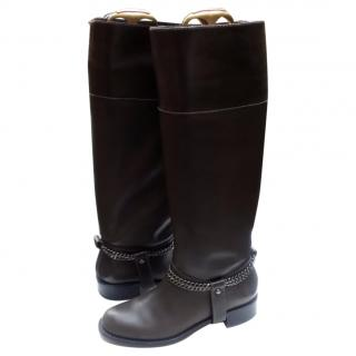 DKNY Megan knee high riding boots